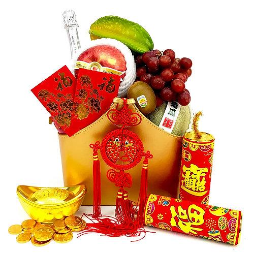 迎春立福新年禮籃 CNY083