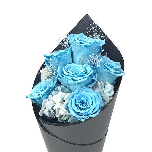 玫瑰花束 (永生花) PFF035