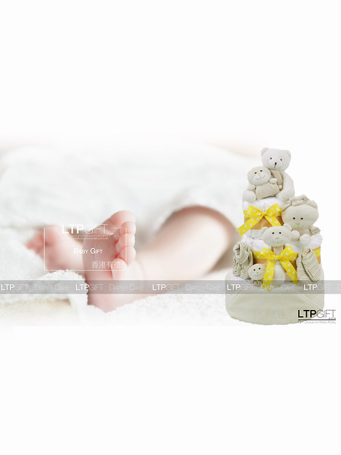Diaper Cake 尿片蛋糕   - - -  (Organic Product 有機產品)