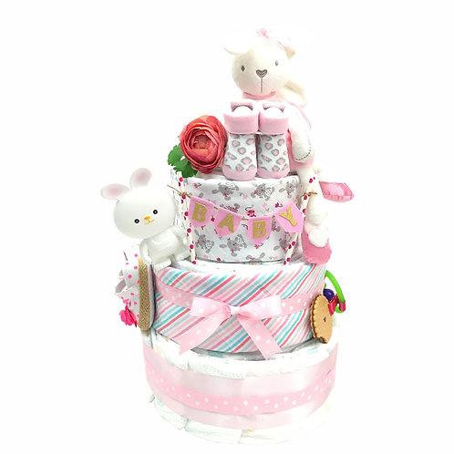 3 層尿片蛋糕 LGM3T007