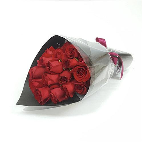 Classic Red Roses Bouquet 玫瑰花束 FB007
