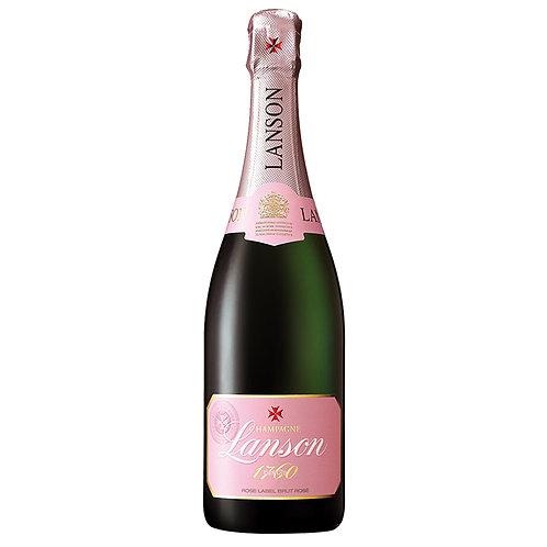 Lanson Champagne Rose Label Brut NV,  France, Champagne, 750ml 1C0004-FRAEC