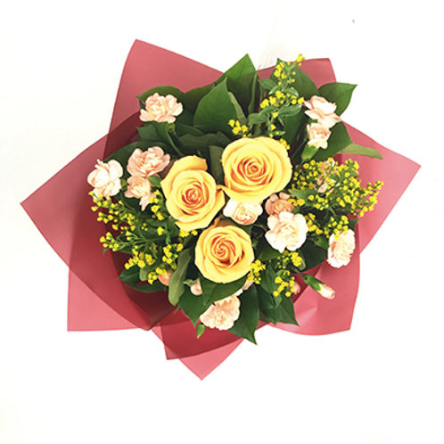 Yellow Roses Bouquet 玫瑰花束 FB004