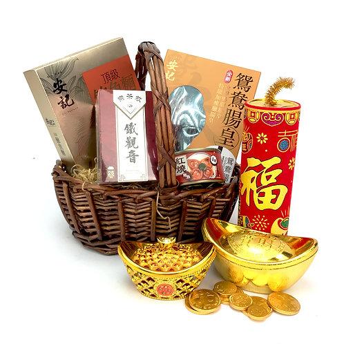金豬報喜新年禮籃 CNY012