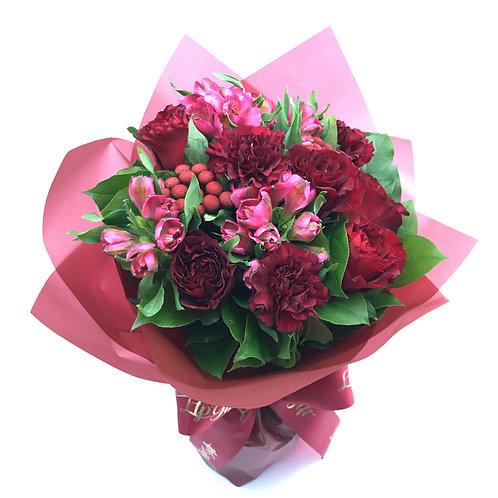 Red Roses Bouquet 紅玫瑰花束 FB001