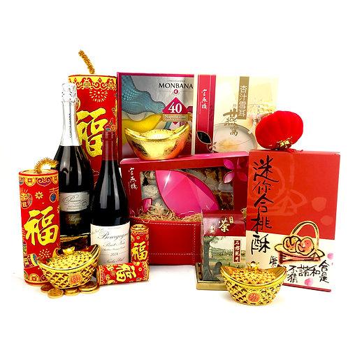迎春報喜新年禮籃 CNY011