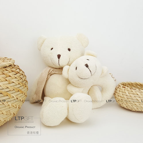 Natural Charm Organic (Terry Bear & Bear Rattle)