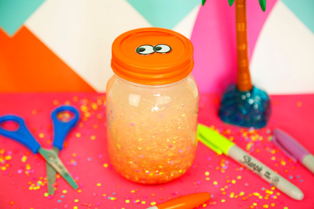 Calming glitter jar