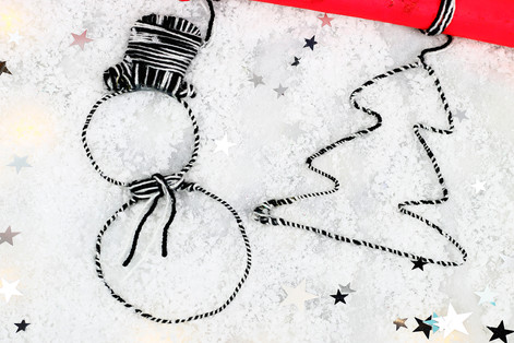 Festive Wire Decorations