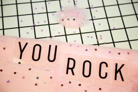 'You Rock' pocket rock