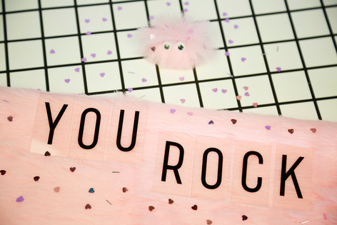 'You Rock' pocket rock