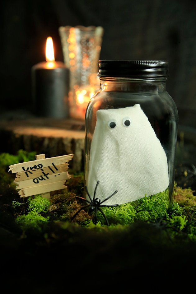 DIY pet ghost in jar | DiY Blonde | TV Expert & Stylist | London