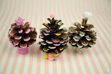 Mini xmas trees
