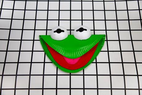 Paper Plate Kermit