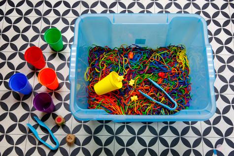 Rainbow Spaghetti Game