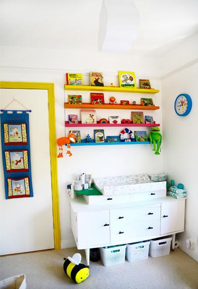 Emmett's nursery decor