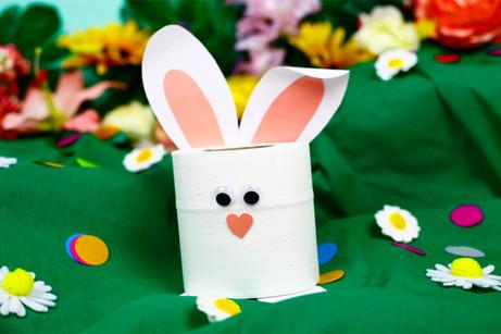 Loo roll bunny
