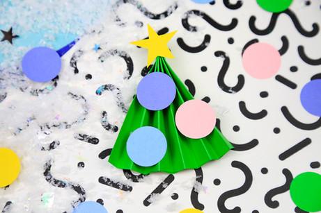 Mini Paper Christmas Tree