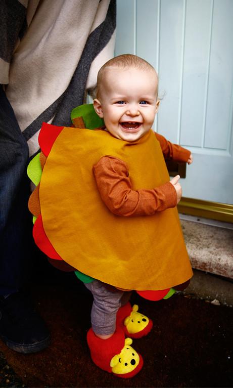 Baby Tasty taco costume