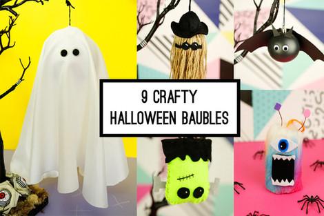 9 crafty Halloween baubles
