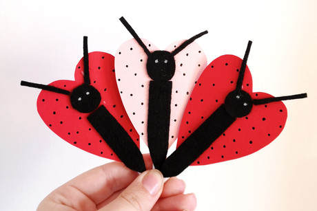 Valentine's Butterfly Lollies