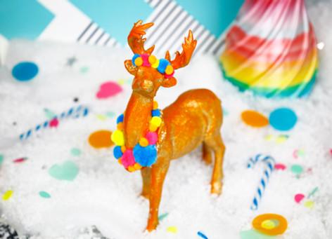 Pom-Pom Reindeer