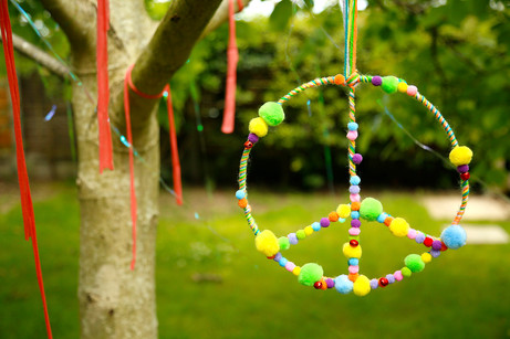 Festival peace garland
