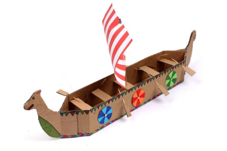 How to Make a Viking Longboat