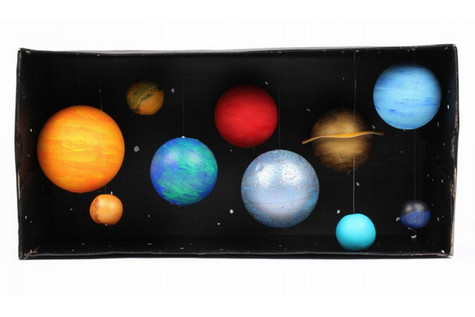 How to Make a Model Solar System