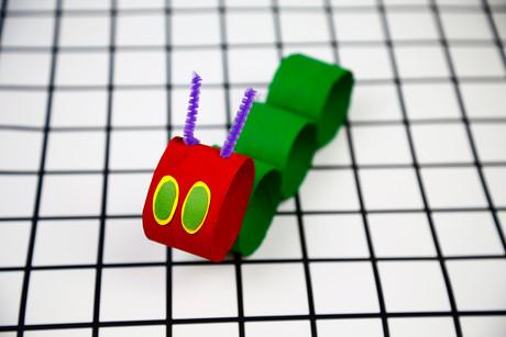 Toilet Tube Hungry Caterpillar