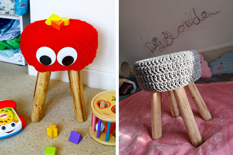 DIY Monster Stool