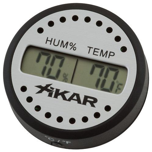Xikar - 832XI_Round-Digital-Hygrometer