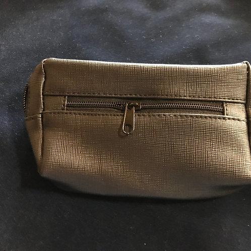 Combo Zipper Pouch - Imitation Leather