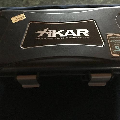 Xikar 15 Count Travel Humidor - Black