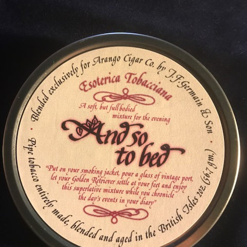 Esoterica And So To Bed 2oz. Tin