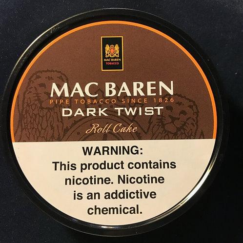 Mac Baren - Dark Twist Roll Cake