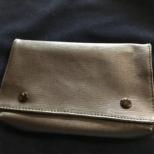 Combo Zipper Pouch - imitation leather
