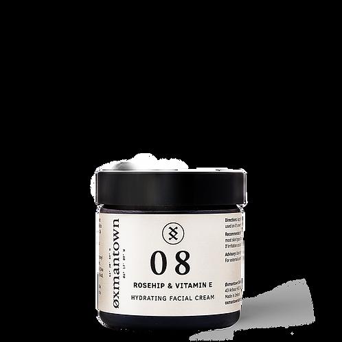 Hydrating Facial Cream Rosehip & Vitamin E 08