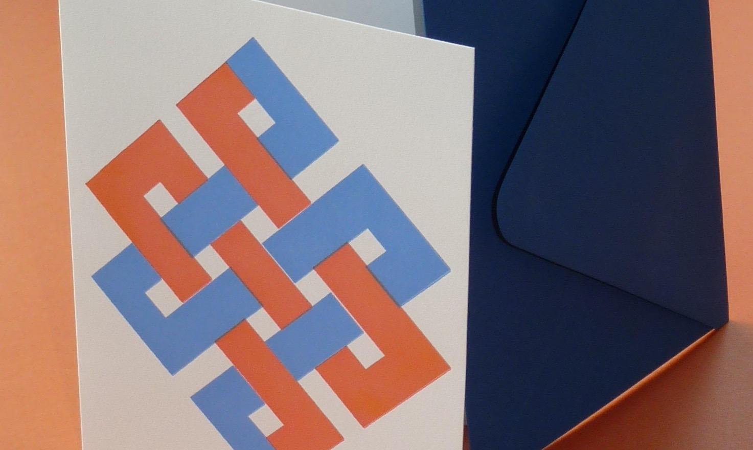Zig Zag  Orange/Blue