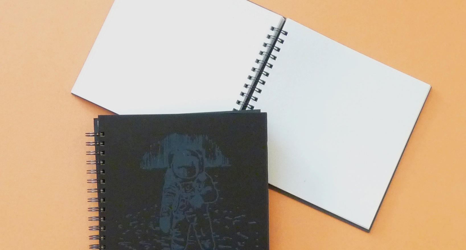 Black spaceman book