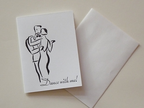 Letterpress Printed Card