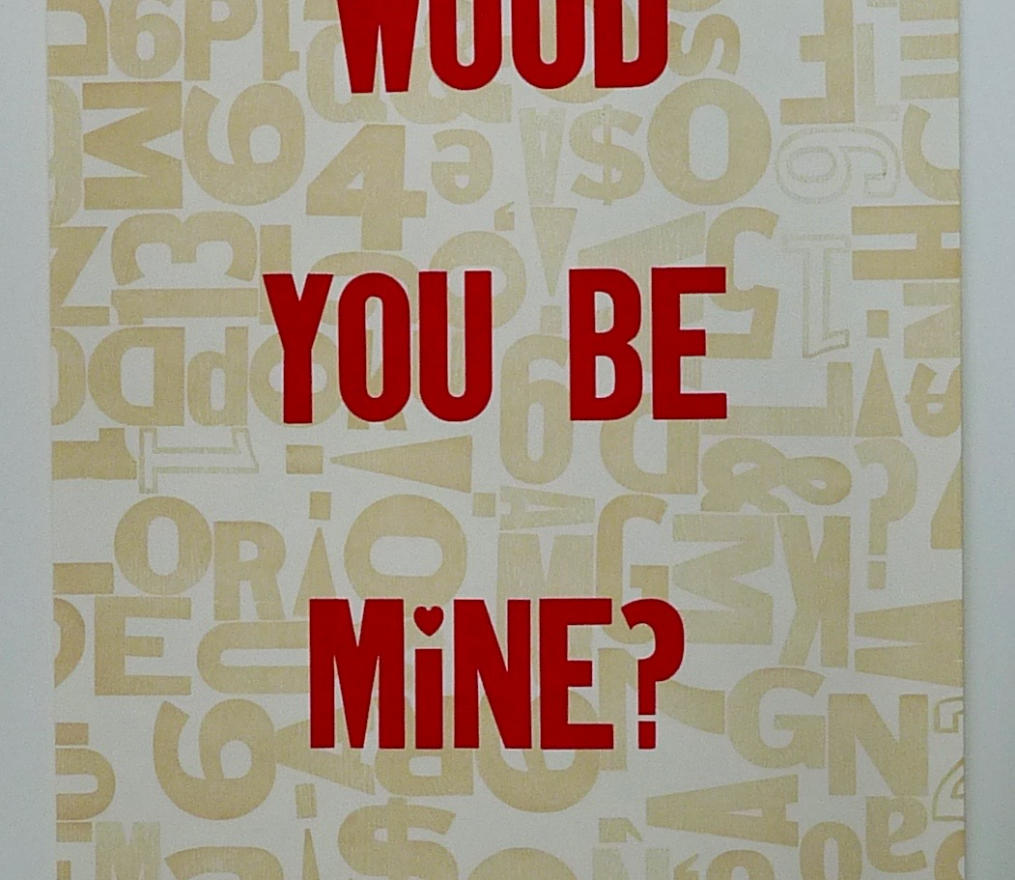wood type poster