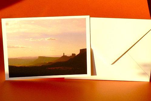 Desert View Photo Card