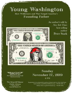 Yong Washington dollar bill 4 green  new