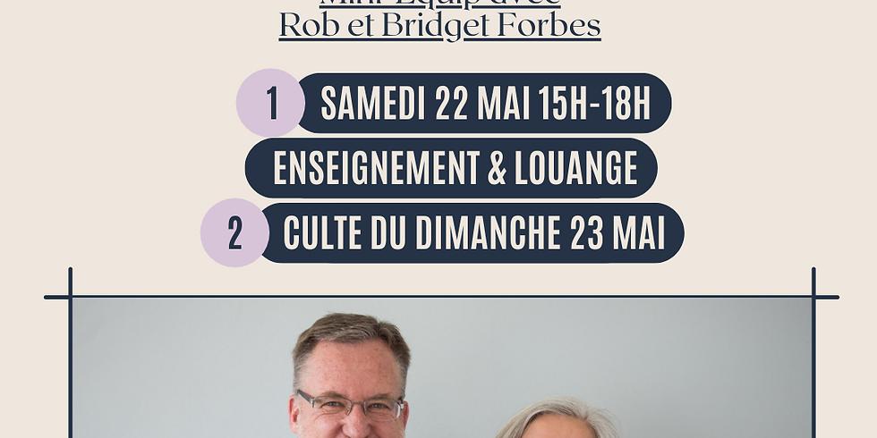Mini-Equip Avec Rob et Bridget Forbes