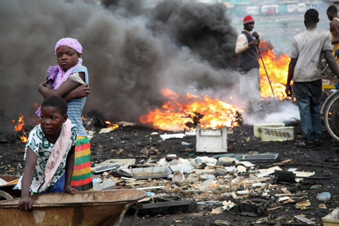 Agbogbloshie E-Dump