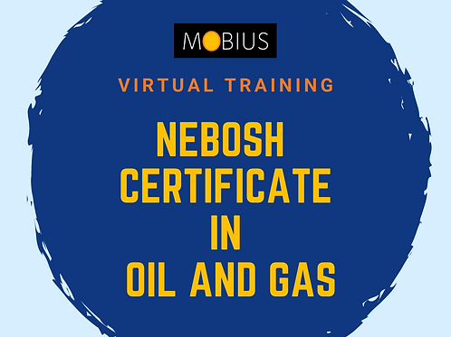 Virtual Certificate in Oil and Gas - 12 April 2021