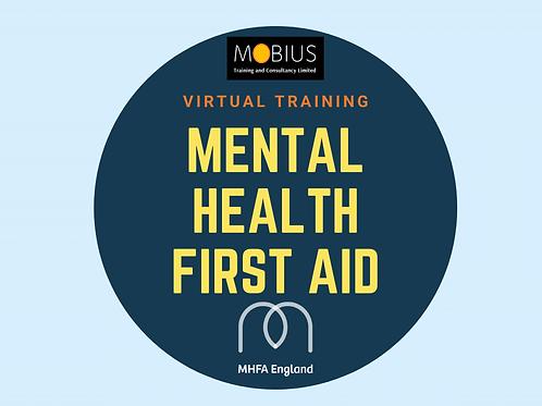 Virtual Mental Health First Aid - 22 & 23 February 2021
