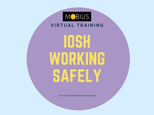Virtual IOSH Working Safely - 01 December 2021