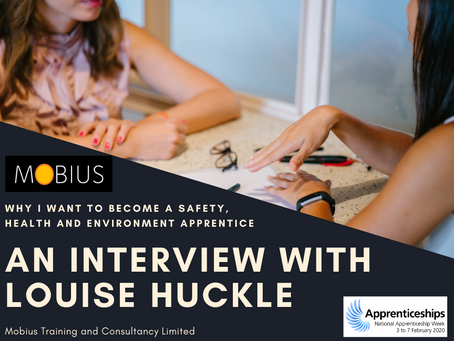Why I Want to Become a Safety, Health & Environment Apprentice by Louise Huckle